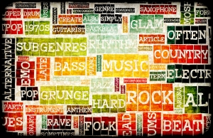 Music Background With Different Genres and Types