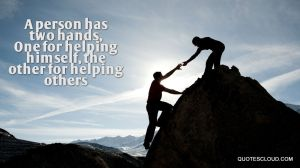 A-person-has-two-hands-One-for-helping-himself-the-other-for-helping-others