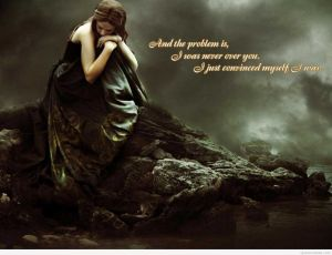 Sad-wallpaper-with-a-alone-girl-quote