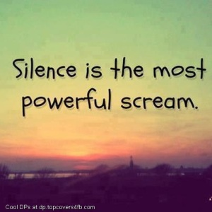 Silence-Is-Powerful-Scream-Display-Picture